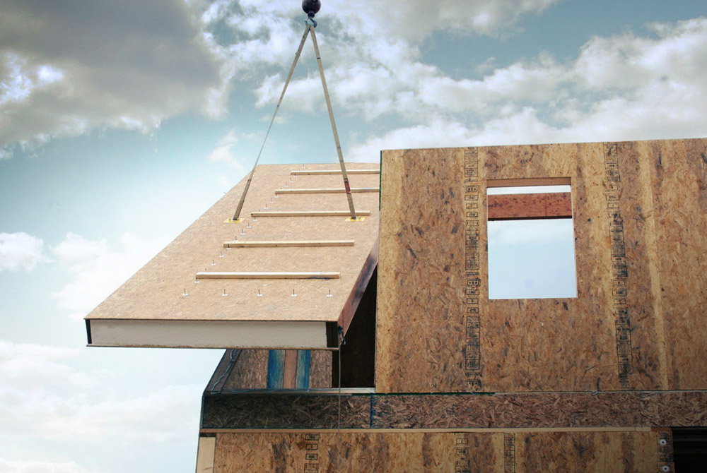 6 reasons to build a house using structural insulated panels for Building a house with sip panels